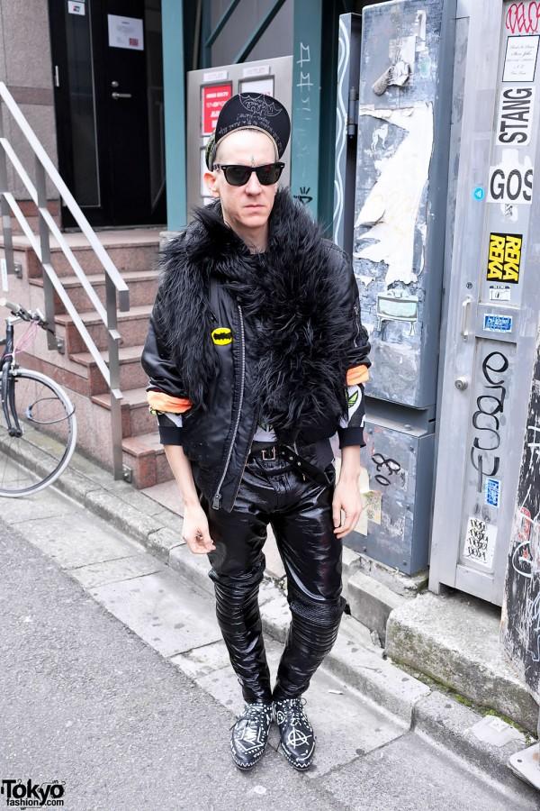Jeremy Scott in Harajuku