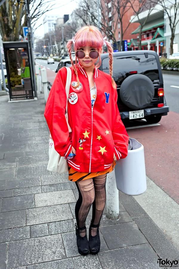 Mickey Mouse Jacket in Harajuku