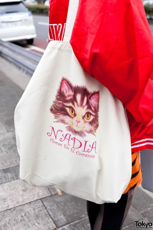 Nadia Harajuku Kitty Bag