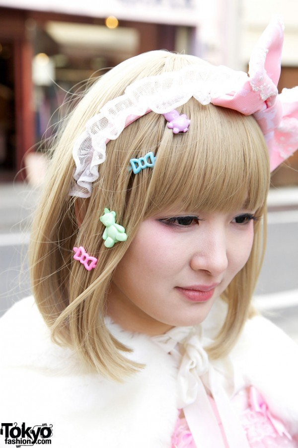 6%DokiDoki hair decorations in Harajuku