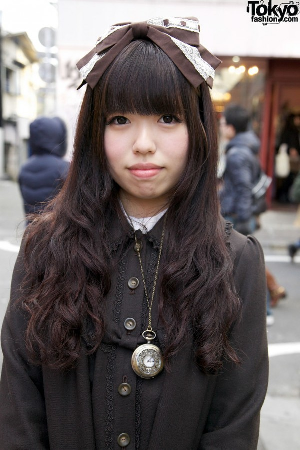 Innocent World coat in Harajuku
