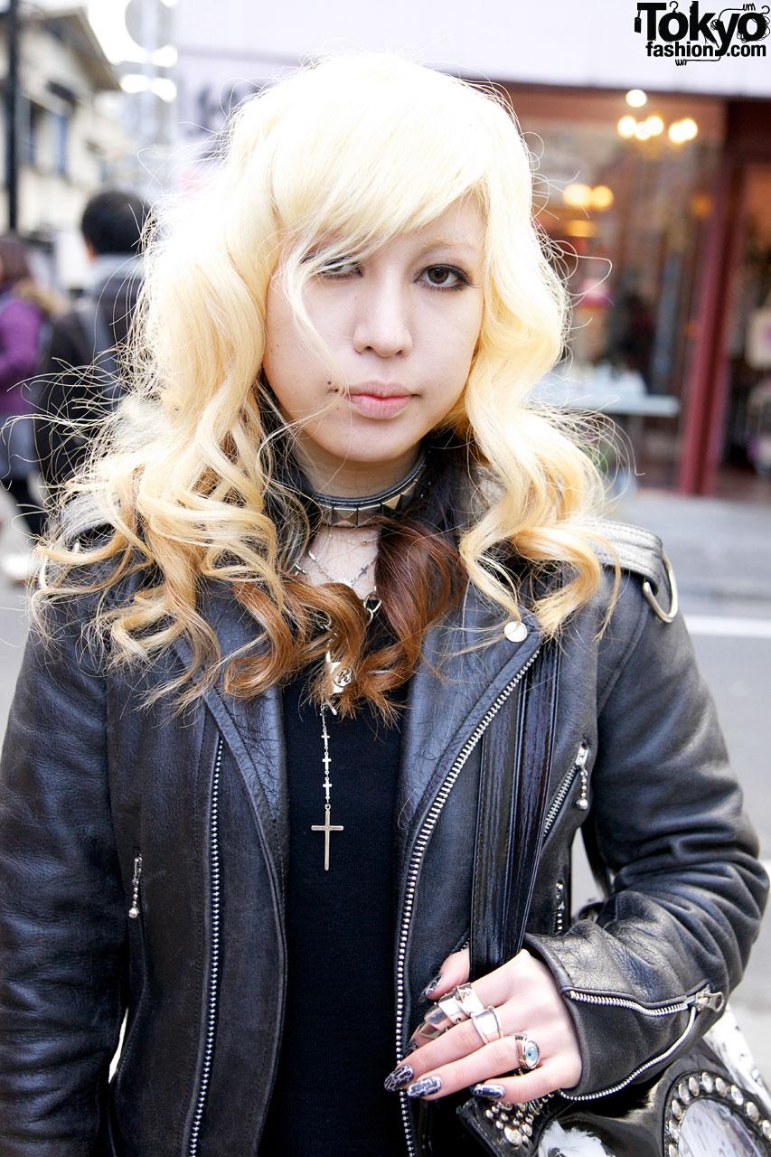 Motorcycle Jackets From Tokyo Punker Amp Schott In Harajuku