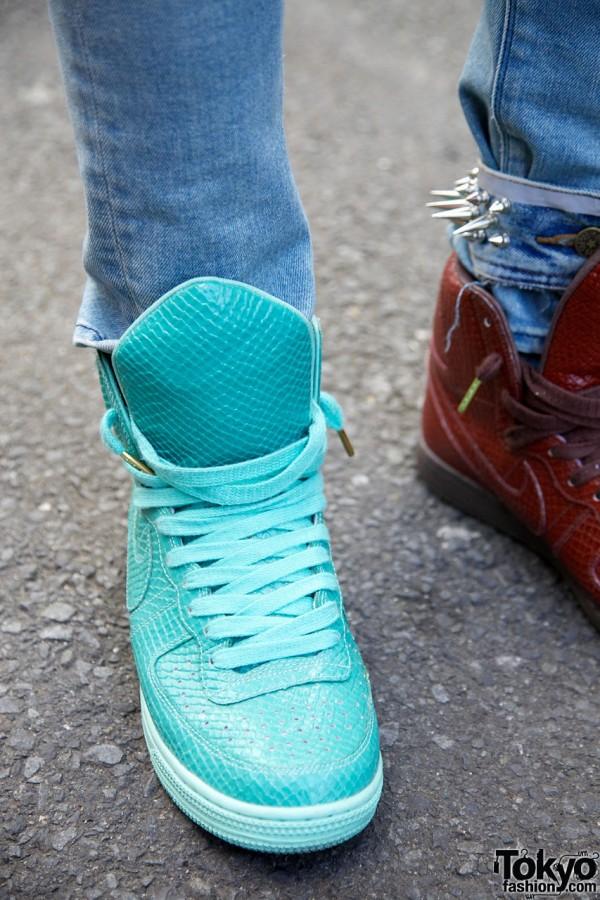 Snakeskin Nike Swagger Sneakers