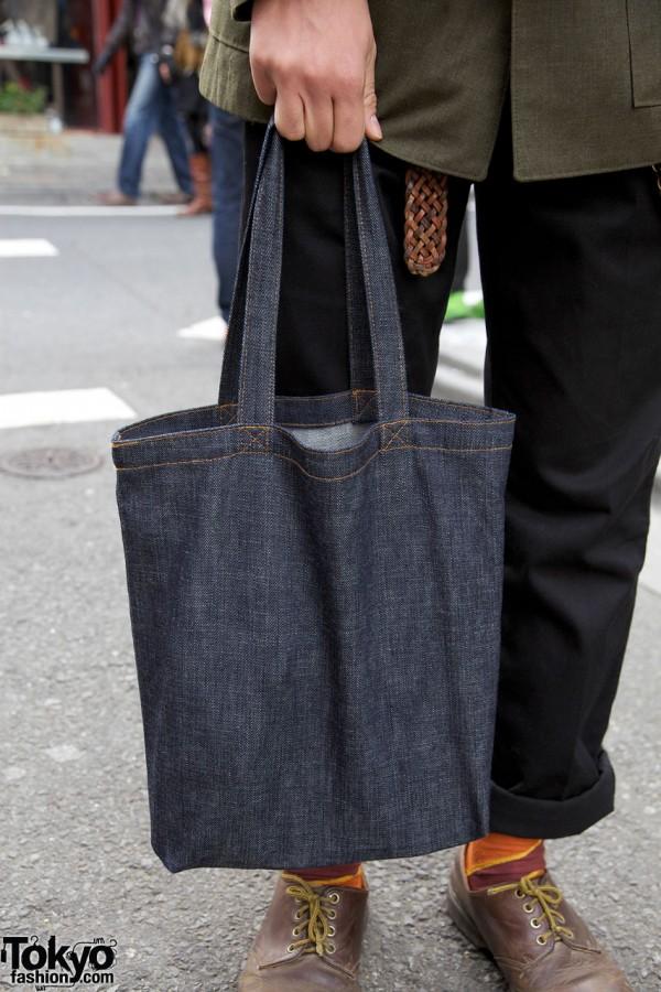 Denim bag from Nakameguro