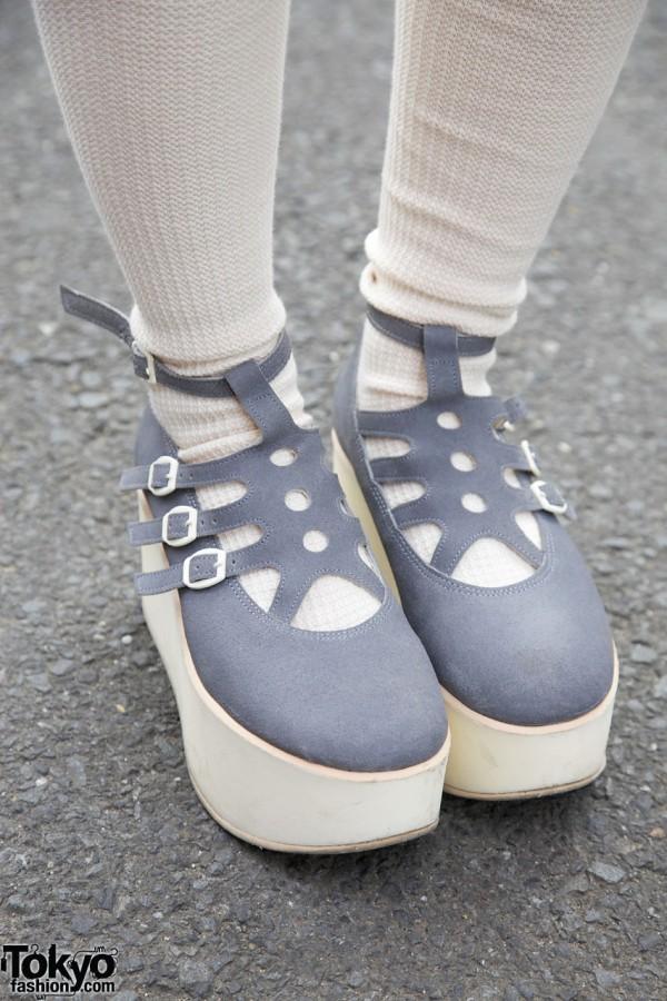Tokyo Bopper rocking horse shoes in Harajuku