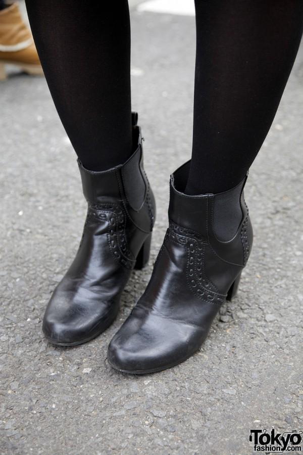Short Arrow boots in Harajuku