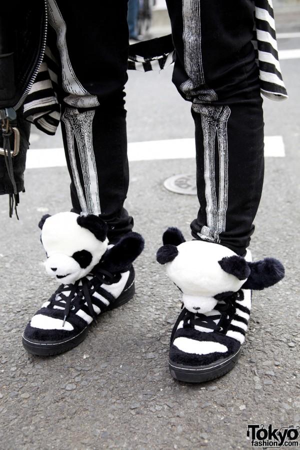 Jeremy Scott x Adidas Panda