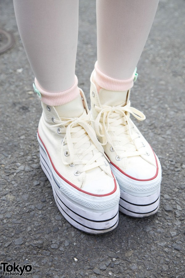 Platform sneakers from Nadia