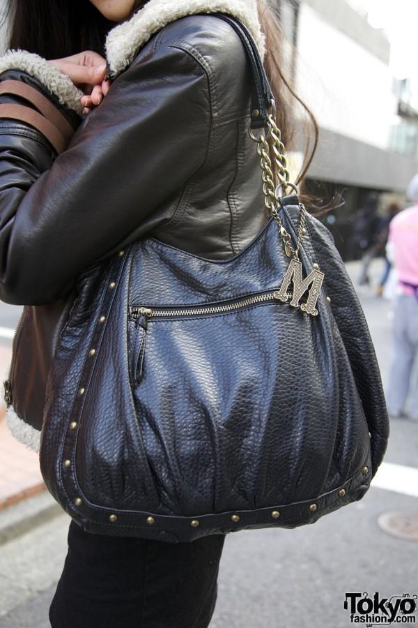 H&M bag w/ Samantha Thavasa charm