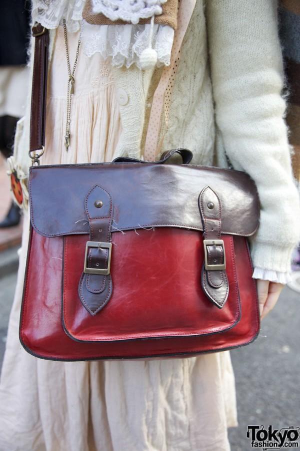 Cross body satchel bag from Takeshita Dori