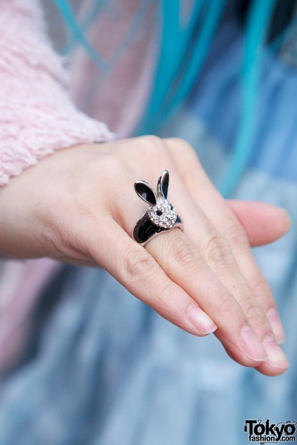 Tetragrammaton Rabbit Ring