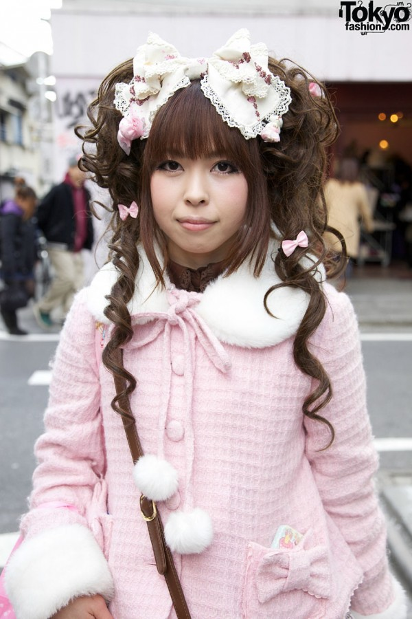 Angelic Pretty jacket in Harajuku