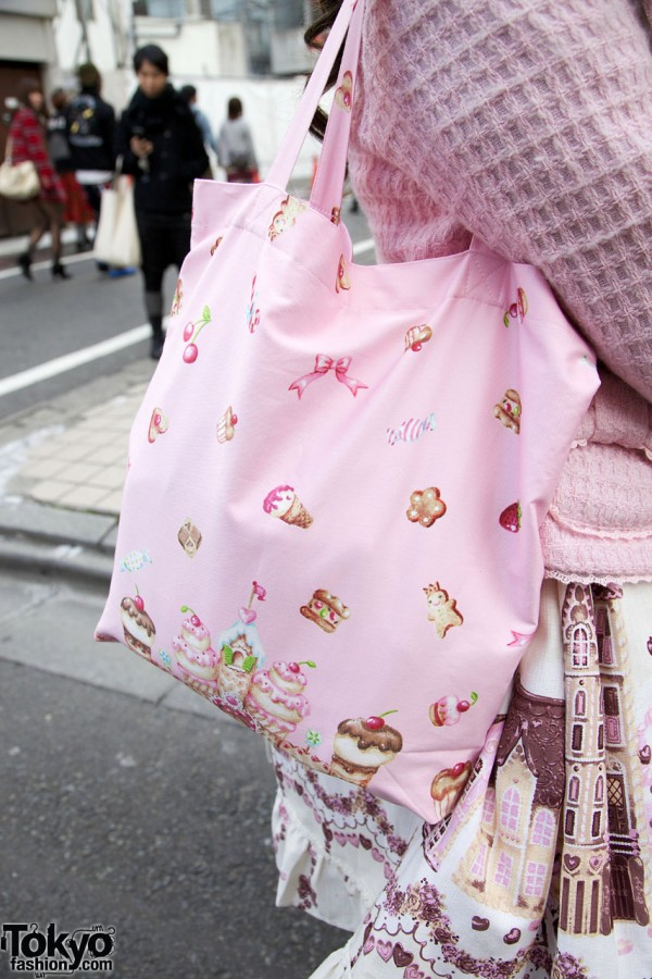 Fabric bag in Harajuku