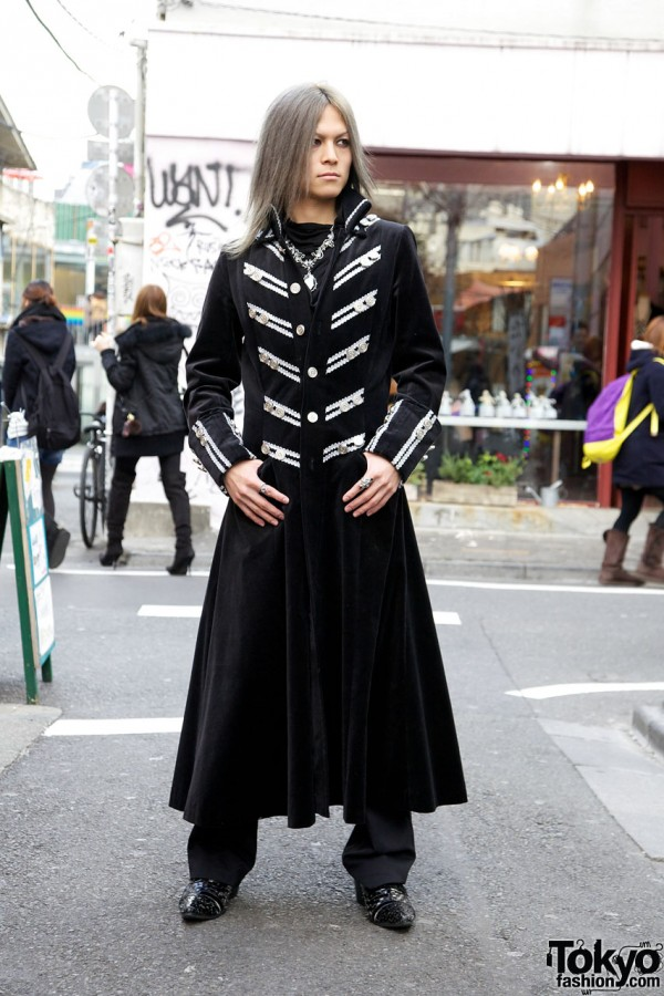 Pan-d-ra Singer Toshiki's Tetragrammaton Military Coat