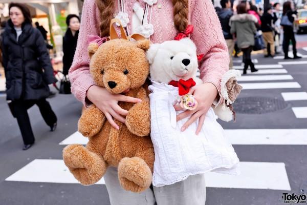 Harajuku Teddy Bears
