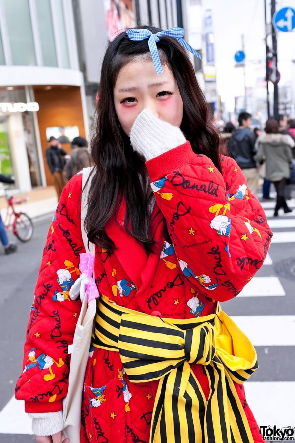 Donald Duck Kimono-like Jacket