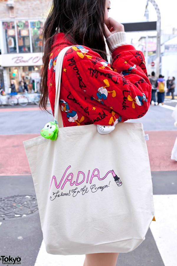 Nadia Harajuku Bag & Hello Kitty