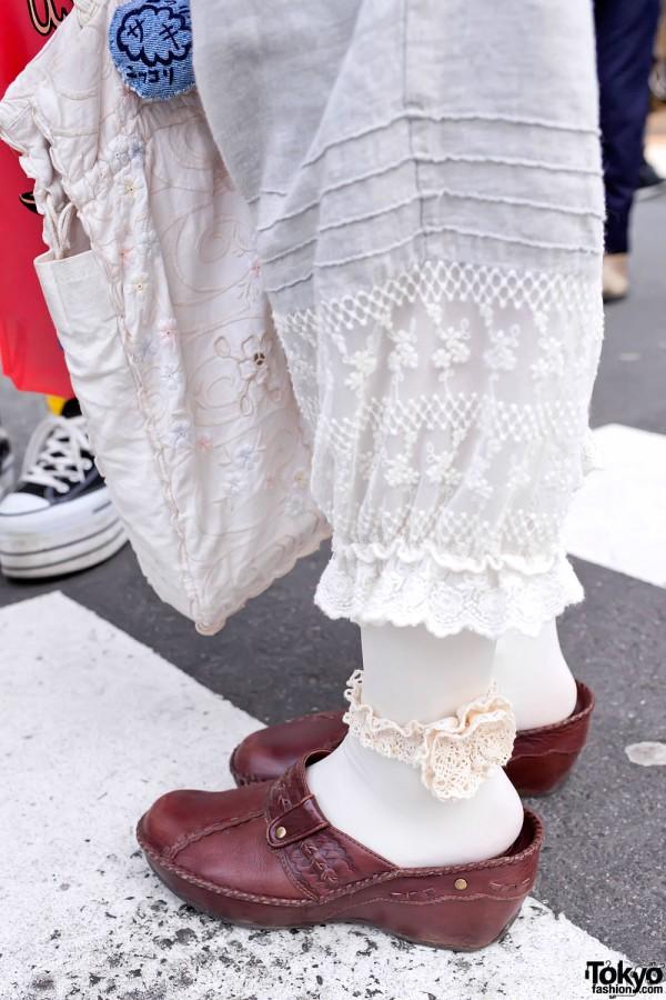 Bloomer Shorts in Harajuku