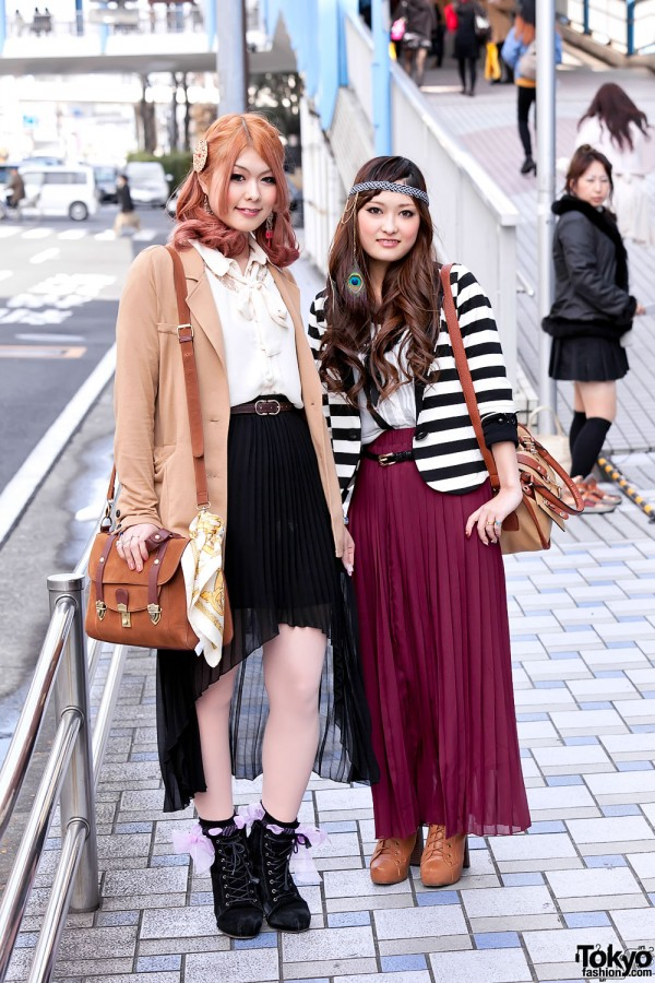 Tokyo Girls Collection Street Snaps 2012 S/S (1)