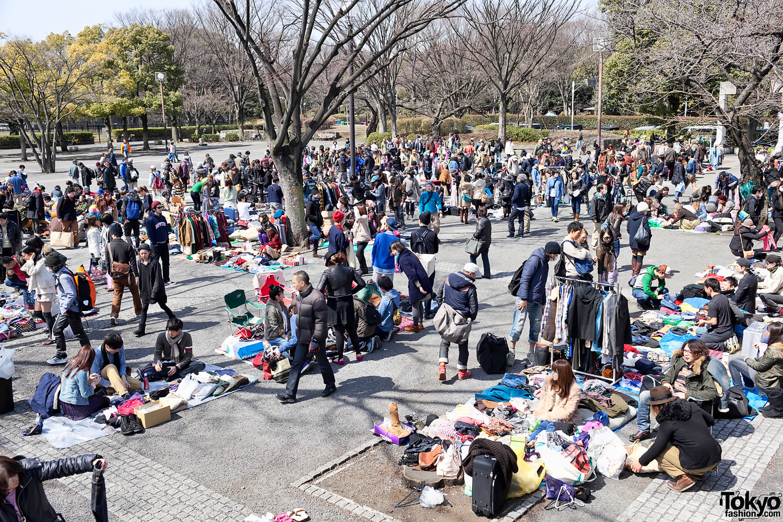 yoyogi flea market tokyos hippest resale event