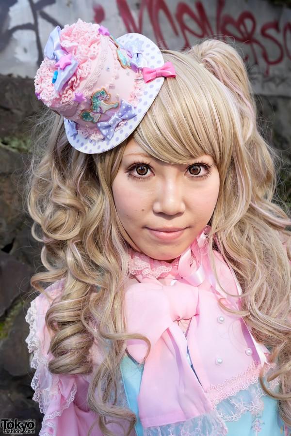 Japanese Sweet Lolita in Harajuku