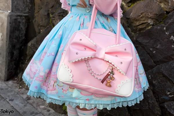 Angelic Pretty Bow Handbag