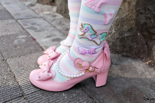 Angelic Pretty Pink Lolita Shoes