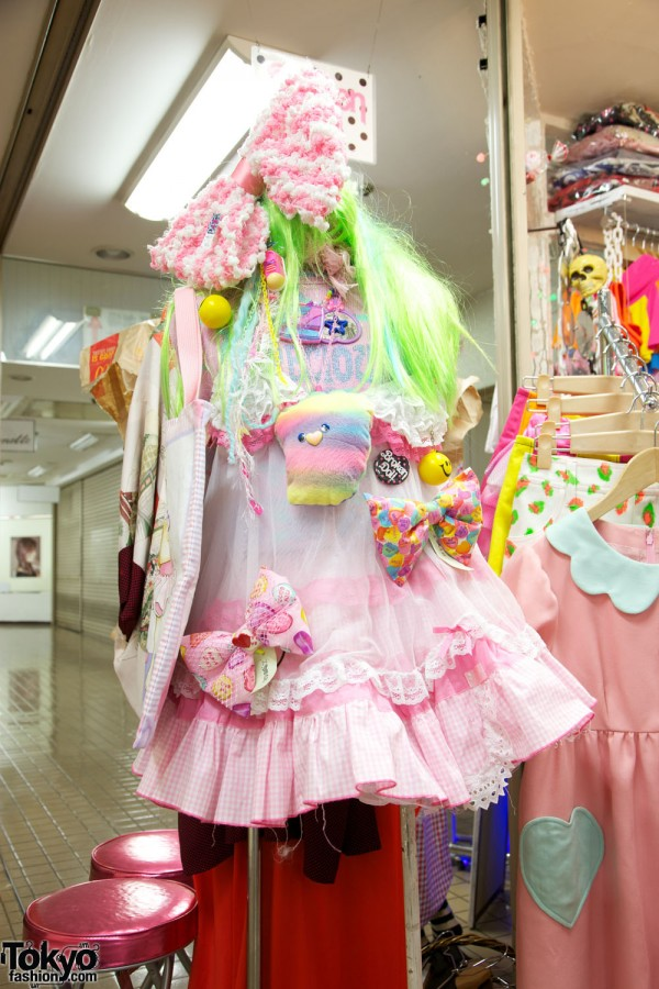 Broken Doll Cute Harajuku Fashion