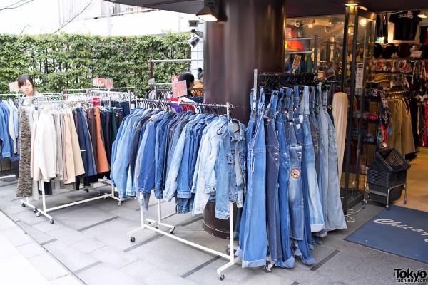 Acid Wash Jackets & Denim Shirts in Tokyo (1)