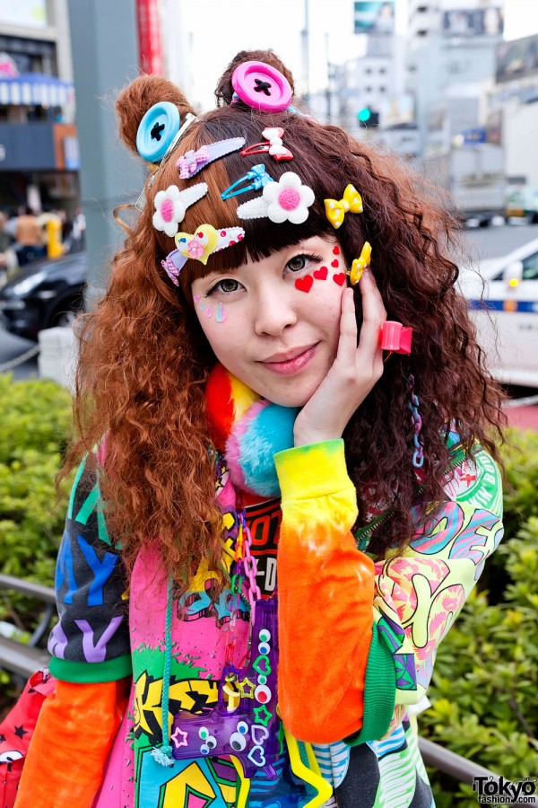 Cute Harajuku Decora Hair Bows