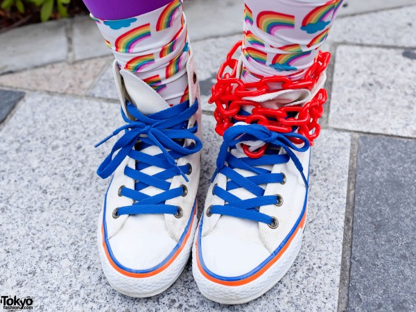 Harajuku Sneakers & Decora Candy Chains