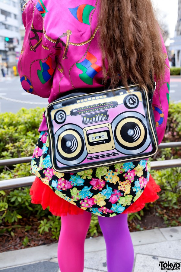 Boom Box Purse in Harajuku