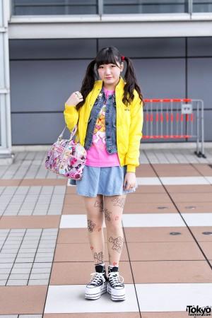 Harajuku Kawaii Street Snaps Spring 2012 (23)