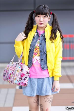 Harajuku Kawaii Street Snaps Spring 2012 (24)