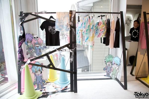 "Million $ Orchestra ""Pastel Horror Yum Yum Show"" Harajuku Exhibition with Alice Black"