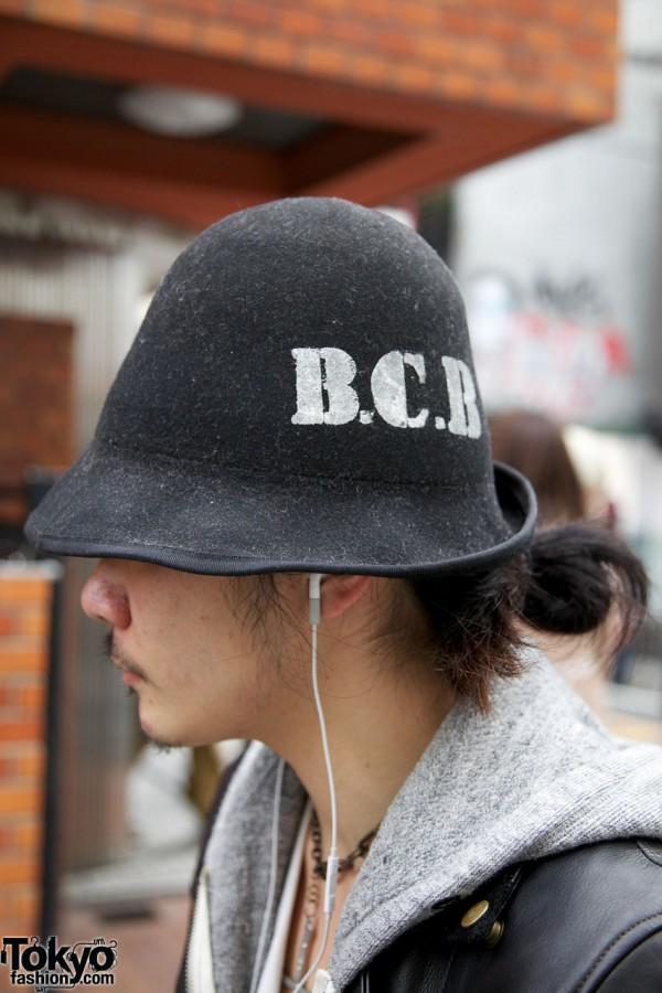 Banal Chic Bizarre hat in Harajuku