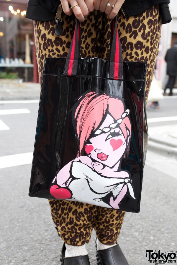 Vinyl graphic bag from Fafi