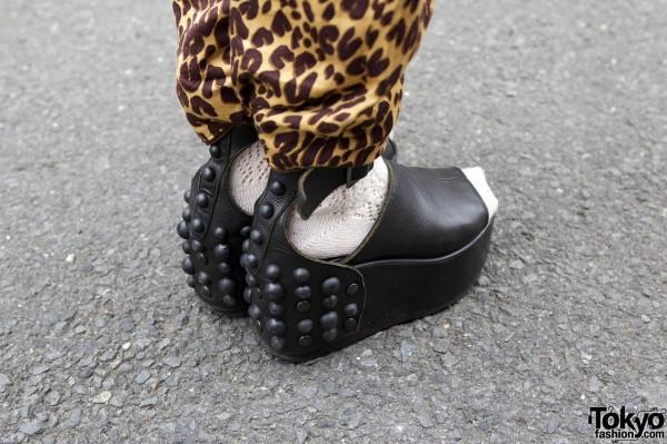 Studded platform shoes from Tokyo Bopper