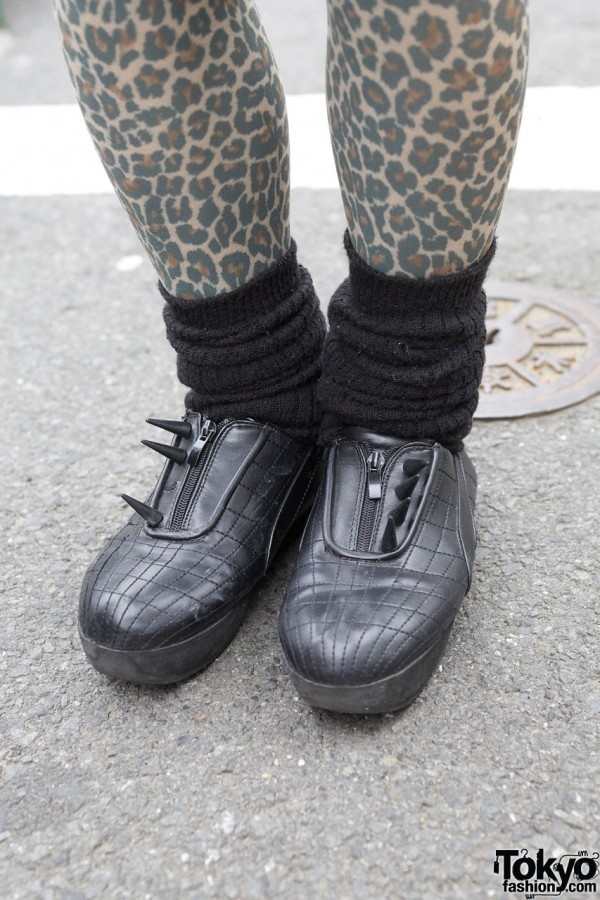 Sick Studded Shoes in Harajuku