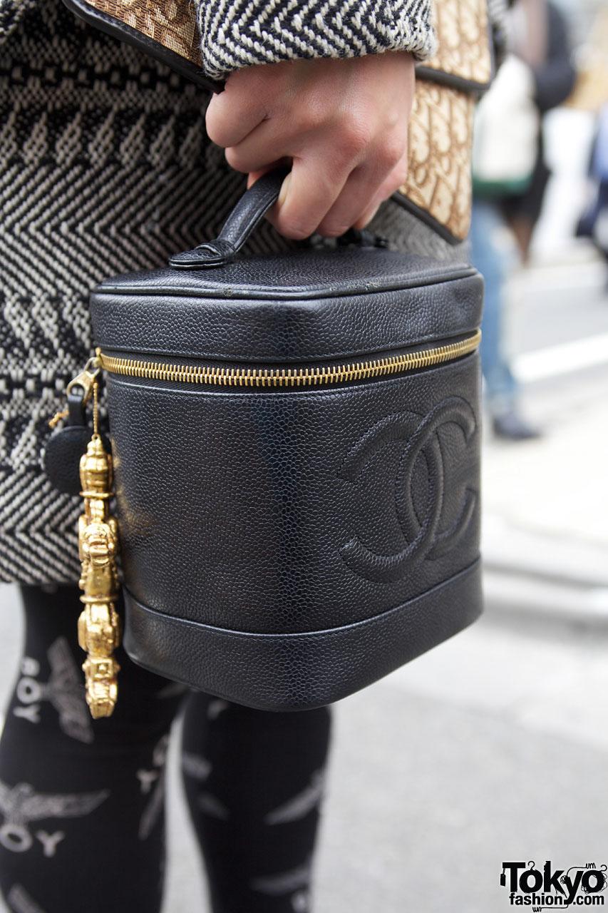 Vintage Chanel In Harajuku Tokyo Fashion News