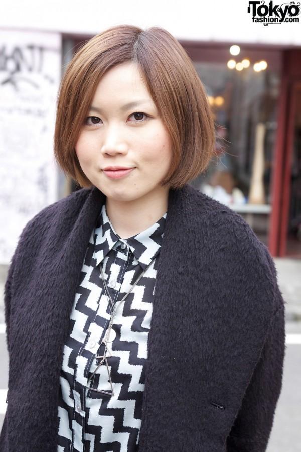Seta Ichiro Coat in Harajuku