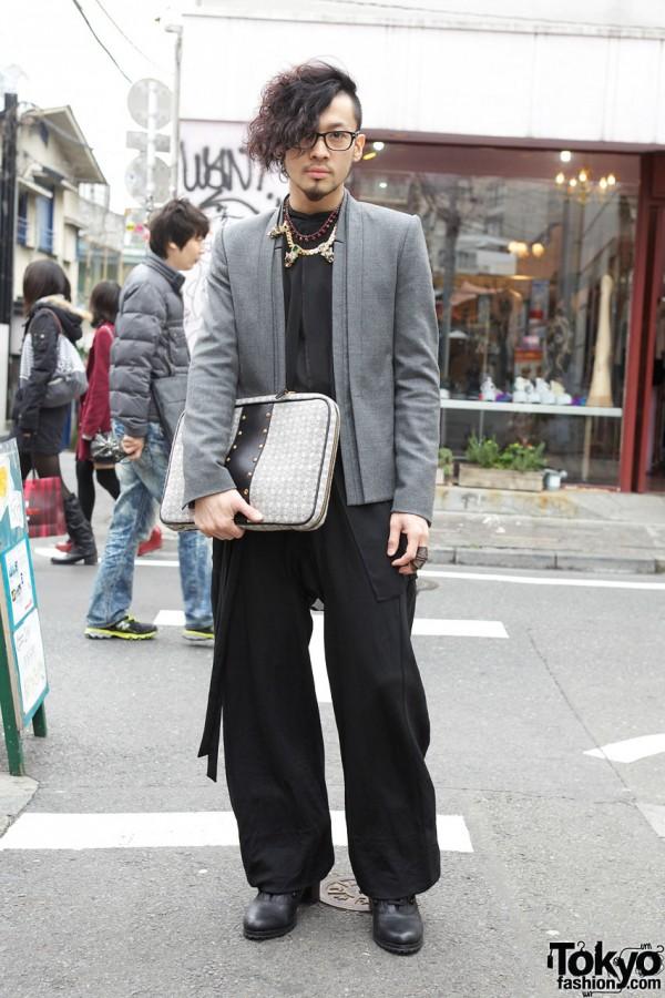 Aran's Songzio Jacket, Avan Trance Shirt & Trussardi Bag