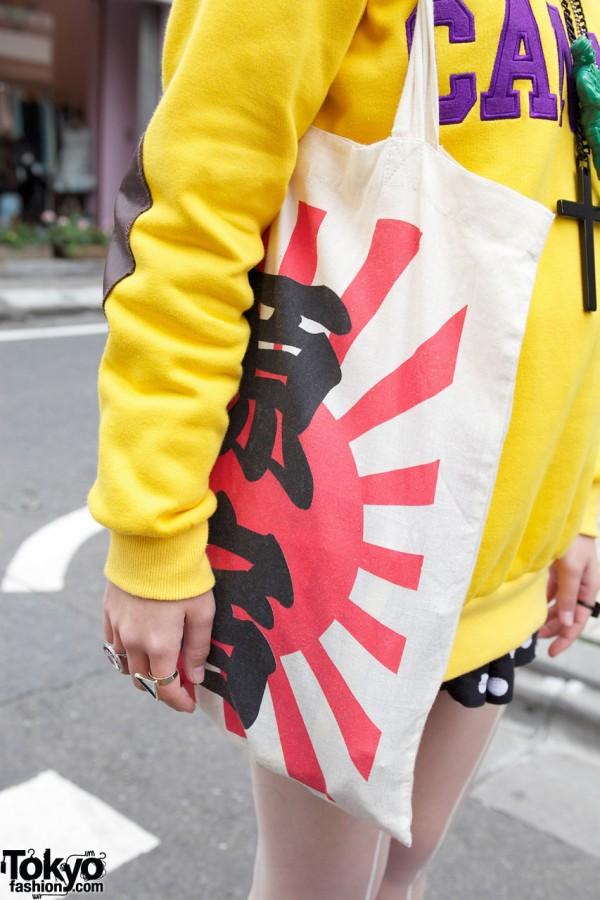 Spinns Harajuku Rising Sun Bag