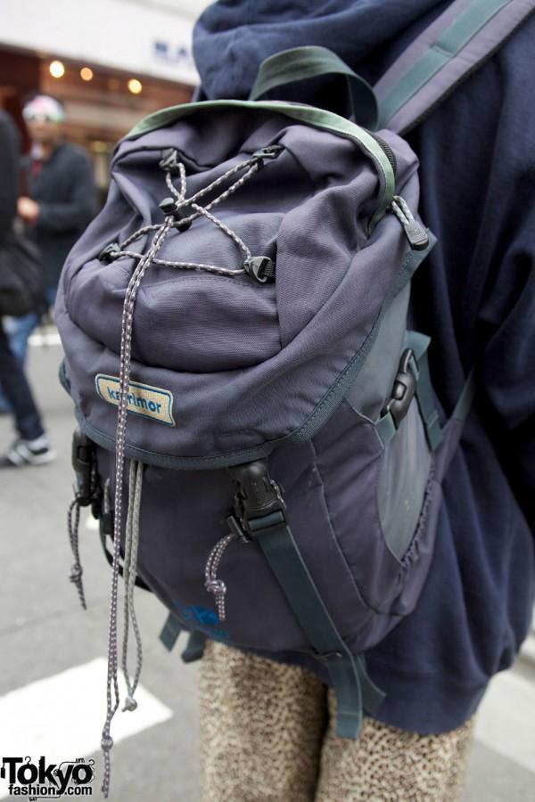 Karrimor backpack in Harajuku