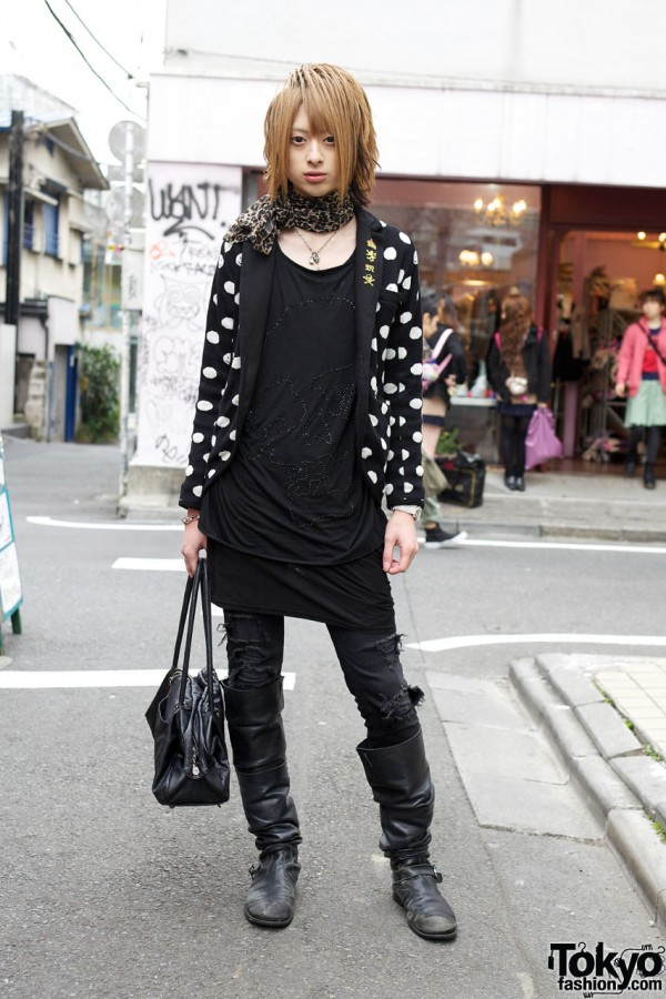 Stylish Japanese Host in Harajuku