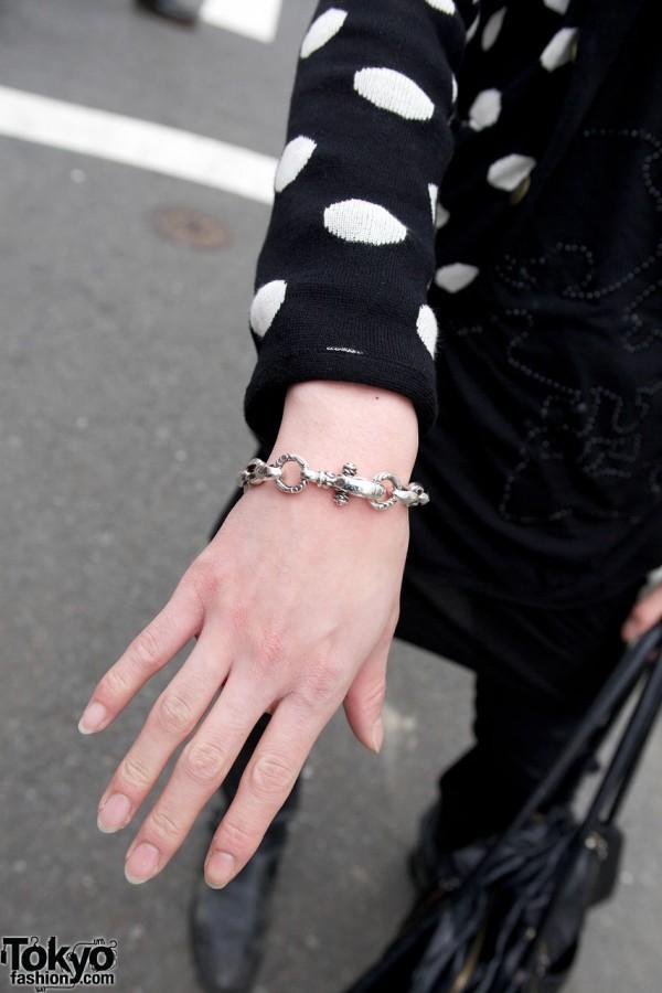 Silver Bracelet in Harajuku