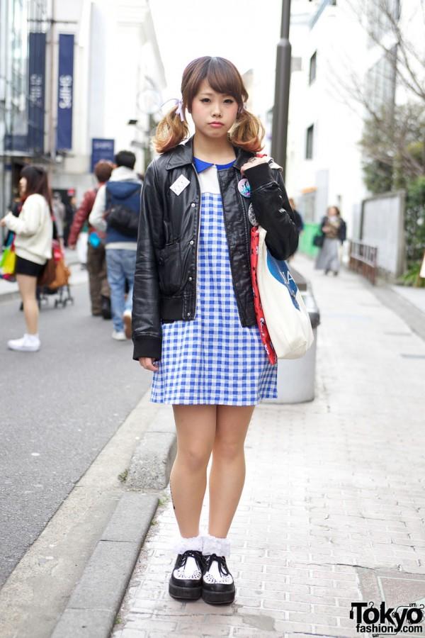 Candy Stripper in Harajuku