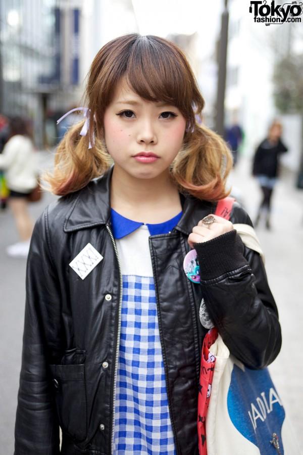 World Wide Love Leather Jacket in Harajuku