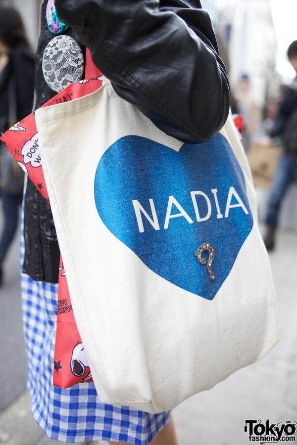 Nadia Harajuku Heart Bag