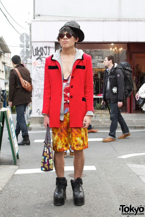 House of Holland & Cassette Playa in Harajuku
